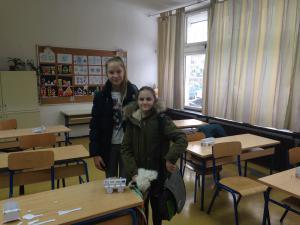 Lora i Darija na natjecanju